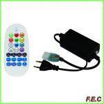 ریموت کنترل مادون قرمز ۲۲۰ ولت RGB