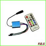 ریموت کنترل مادون قرمز ۱۲ ولت RGB