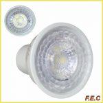 لامپ ال ای دی هالوژن لنزدار پایه استارتی (GU10)