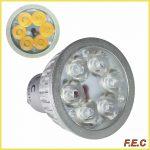 لامپ ال ای دی هالوژن پایه سوزنی (MR16) و پایه استارتی (GU10)